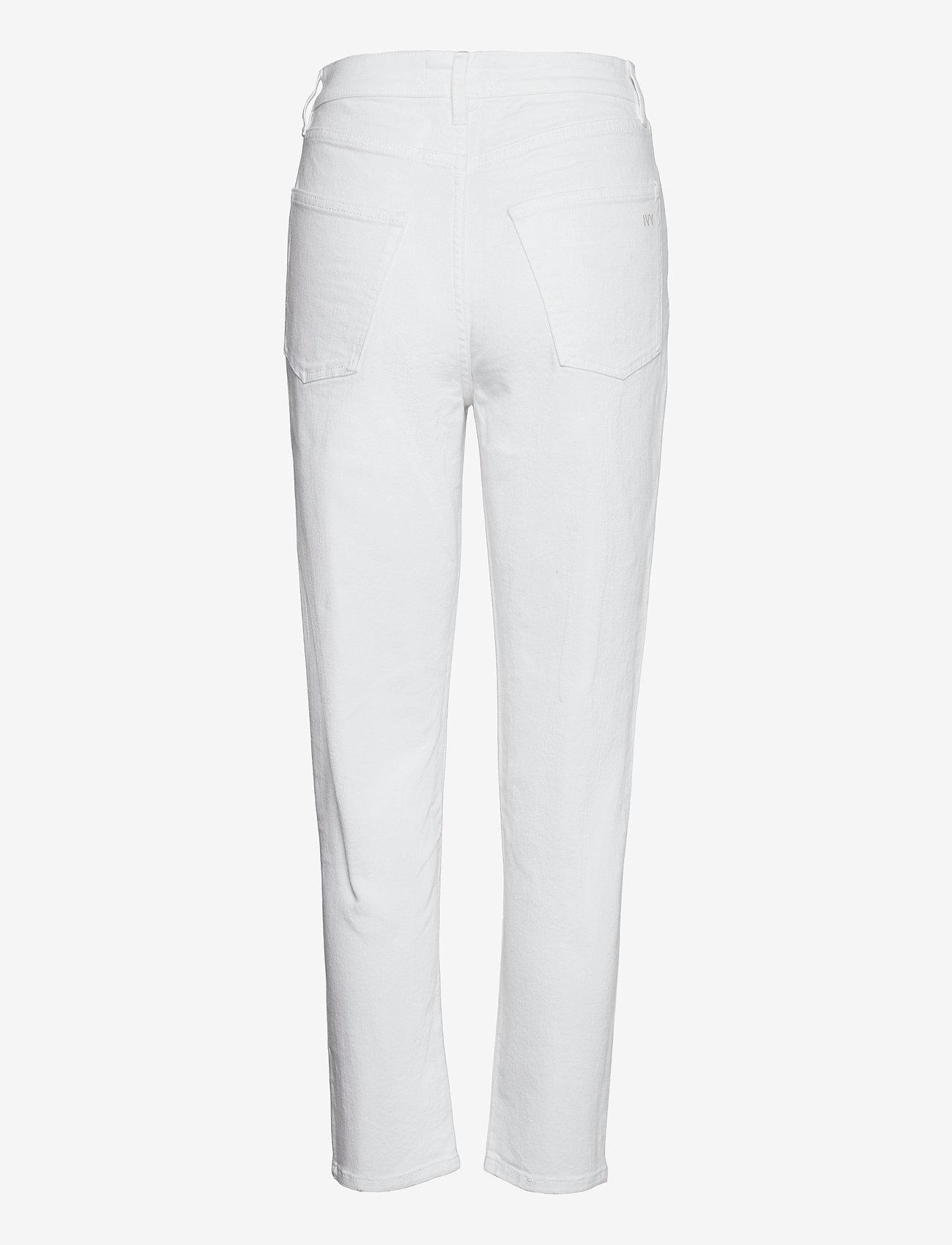 IVY Copenhagen - Angie MOM jeans white - slim fit bukser - white - 1