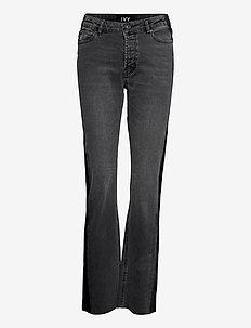 Freja regular Onyx black - skinny jeans - black