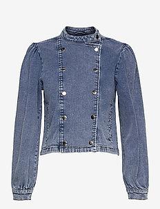 Regitze Denim Jacket Wash Marylebon - denimjakker - denim blue
