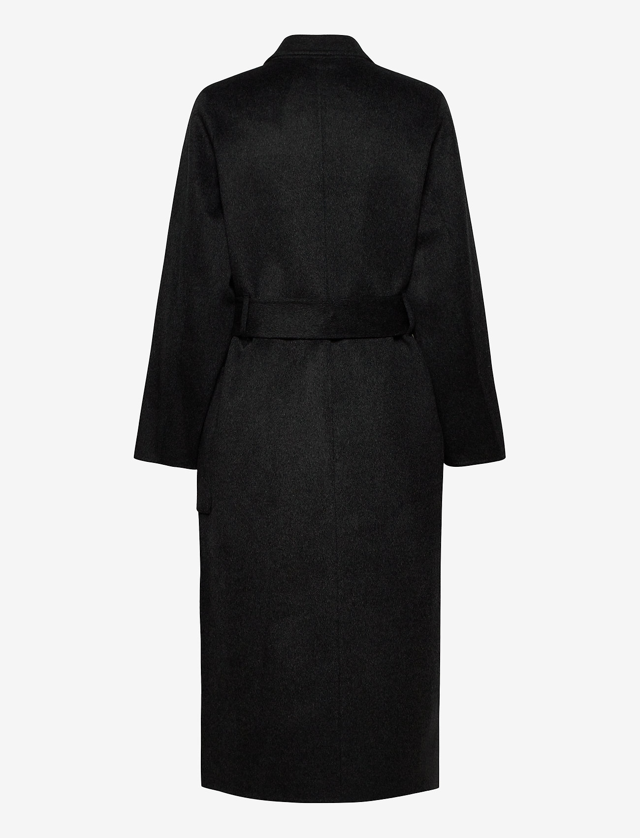 Ivy & Oak - DOUBLE BREASTED COAT - wollen jassen - anthracite - 1