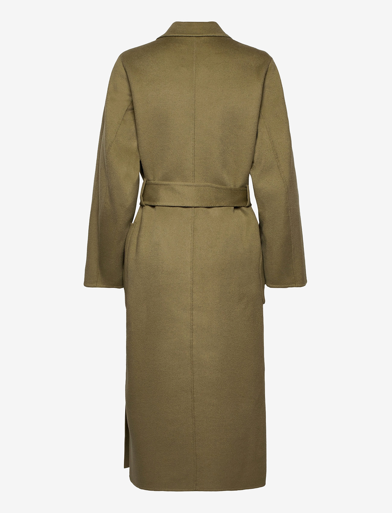 Ivy & Oak - DOUBLE BREASTED COAT - wollen jassen - sage green - 1