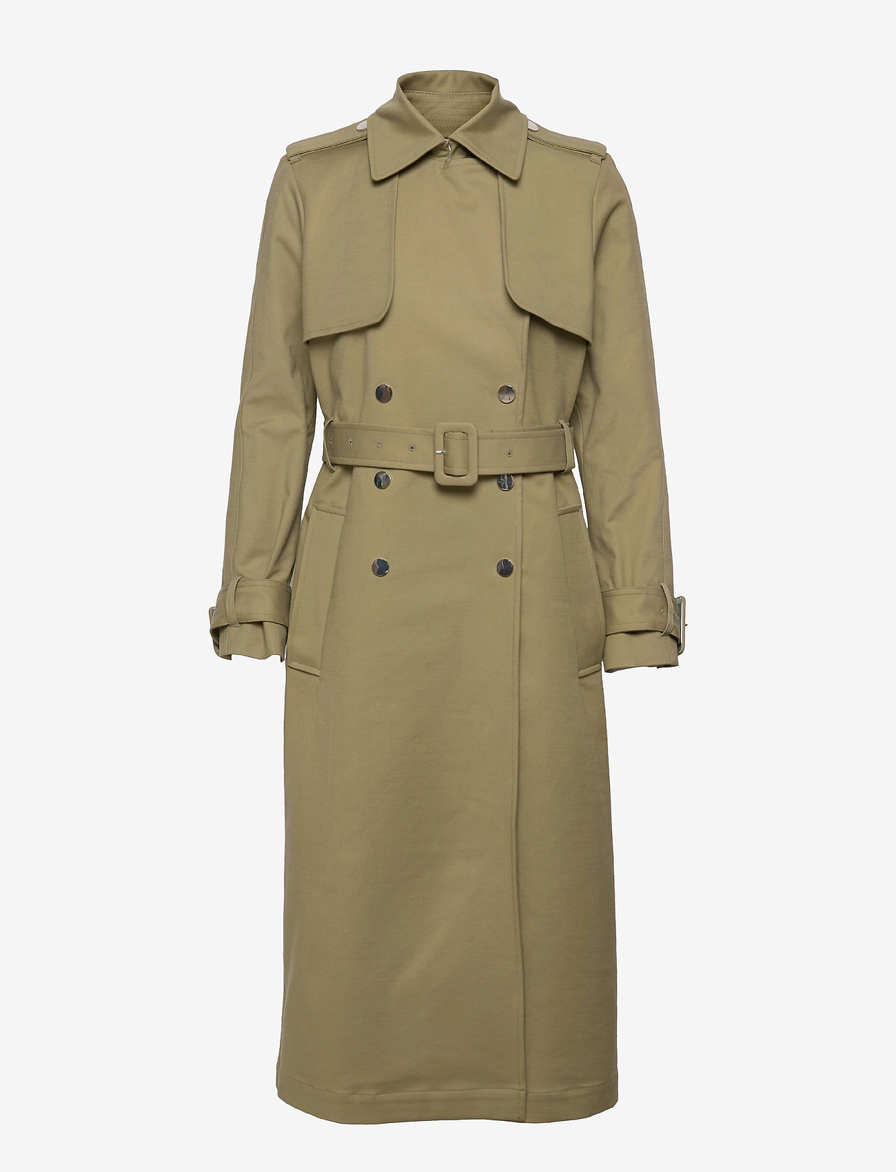 Ivy & Oak - PUKA - trenchcoats - sage green - 0