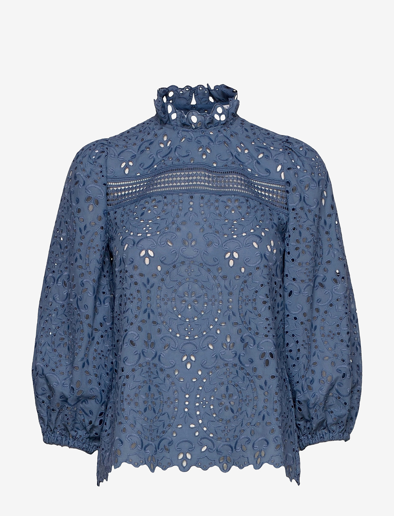 Ivy & Oak - AJUGA - long sleeved blouses - smoked sapphire - 0
