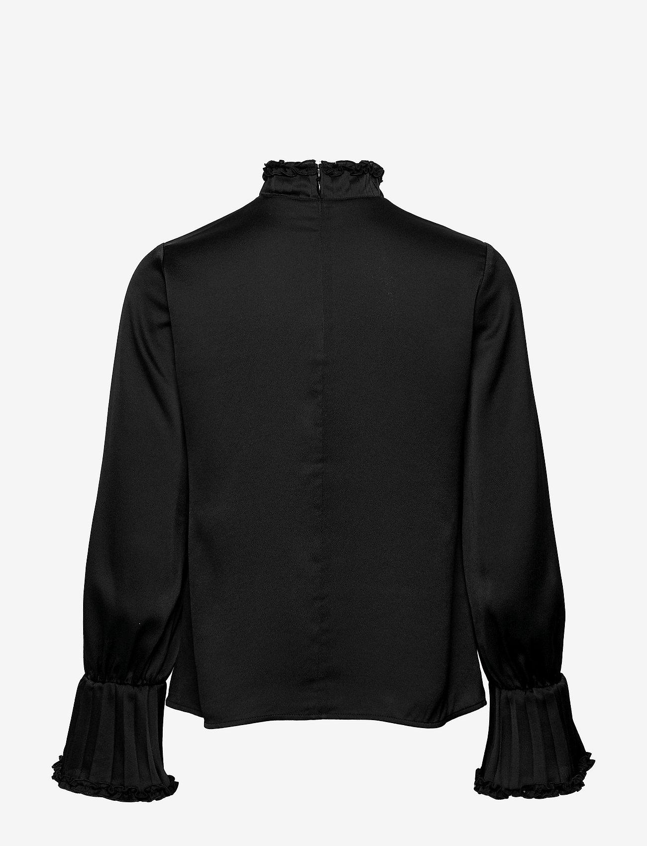 Ivy & Oak - LOBIVIA - long sleeved blouses - black - 1