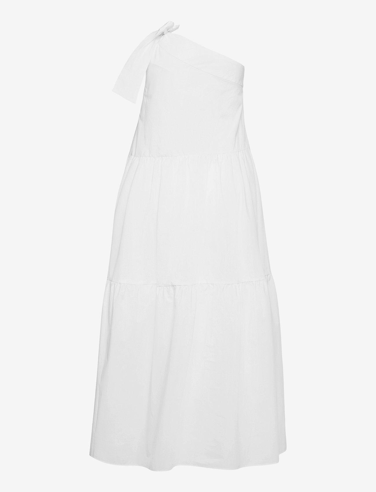 Ivy & Oak - ONE SHOULDER DRESS MAXI LENGHT - sommerkjoler - bright white - 1