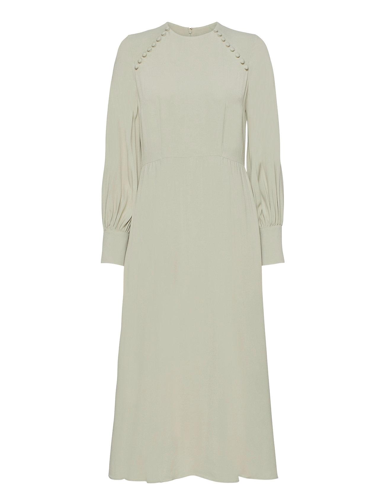 Image of Butt D Dress Midi Length Knælang Kjole Grøn Ivy & Oak (3475360281)
