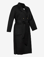 Ivy & Oak - DOUBLE BREASTED COAT - wollen jassen - anthracite - 3