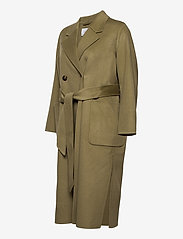 Ivy & Oak - DOUBLE BREASTED COAT - wollen jassen - sage green - 3