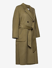 Ivy & Oak - DOUBLE BREASTED COAT - wollen jassen - sage green - 4