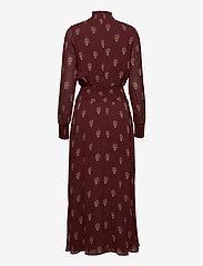 Ivy & Oak - SMOKING DRESS - kveldskjoler - aop - bordeaux - 1