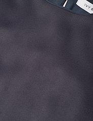 Ivy & Oak - HALF ARM DRESS MIDI - kveldskjoler - graphite blue - 4