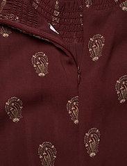 Ivy & Oak - SMOKING DRESS - kveldskjoler - aop - bordeaux - 3