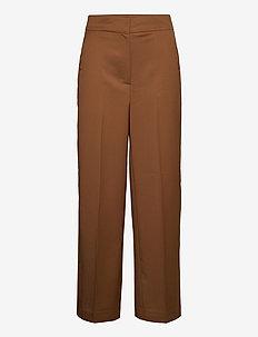 WIDE PANTS - pantalons larges - gingerbread