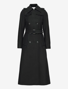 CHARLOTTE - trenchcoats - black