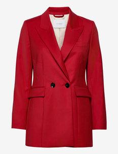 JOYCE ROSE - business blazer - garnet red