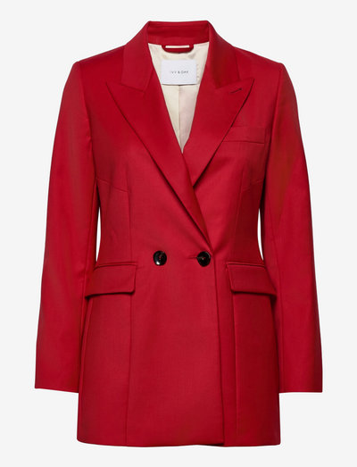 JOYCE ROSE - skræddersyede blazere - garnet red