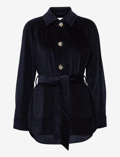 JOY ANN - overshirts - navy blue