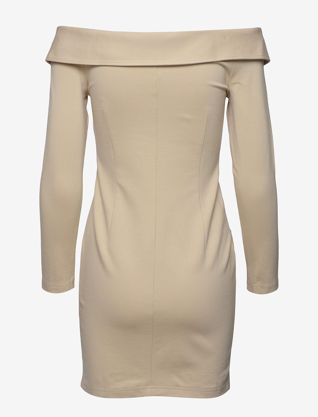 Ivyrevel - OFF SHOULDER BLAZER DRESS - robes de cocktail - beige - 1