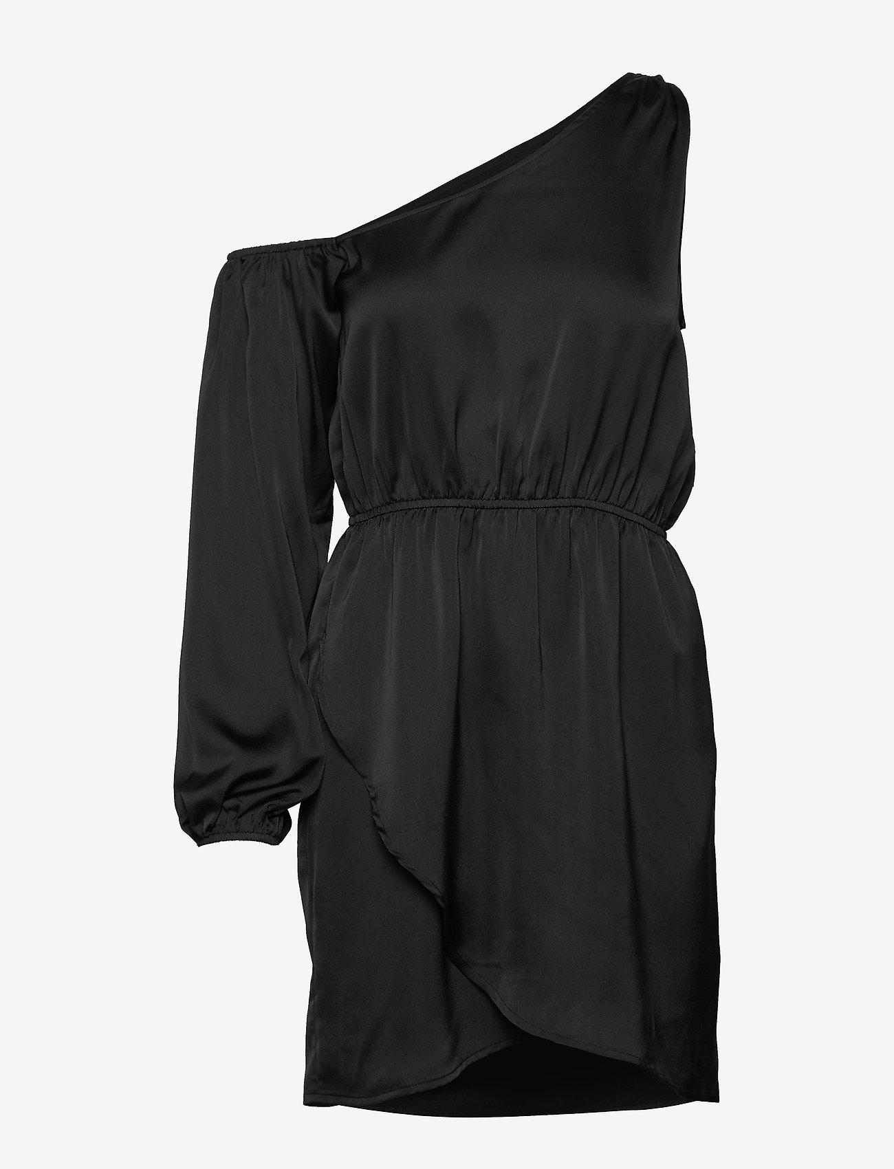 Ivyrevel - ONE SHOULDER DRESS - robes de fête - black - 0