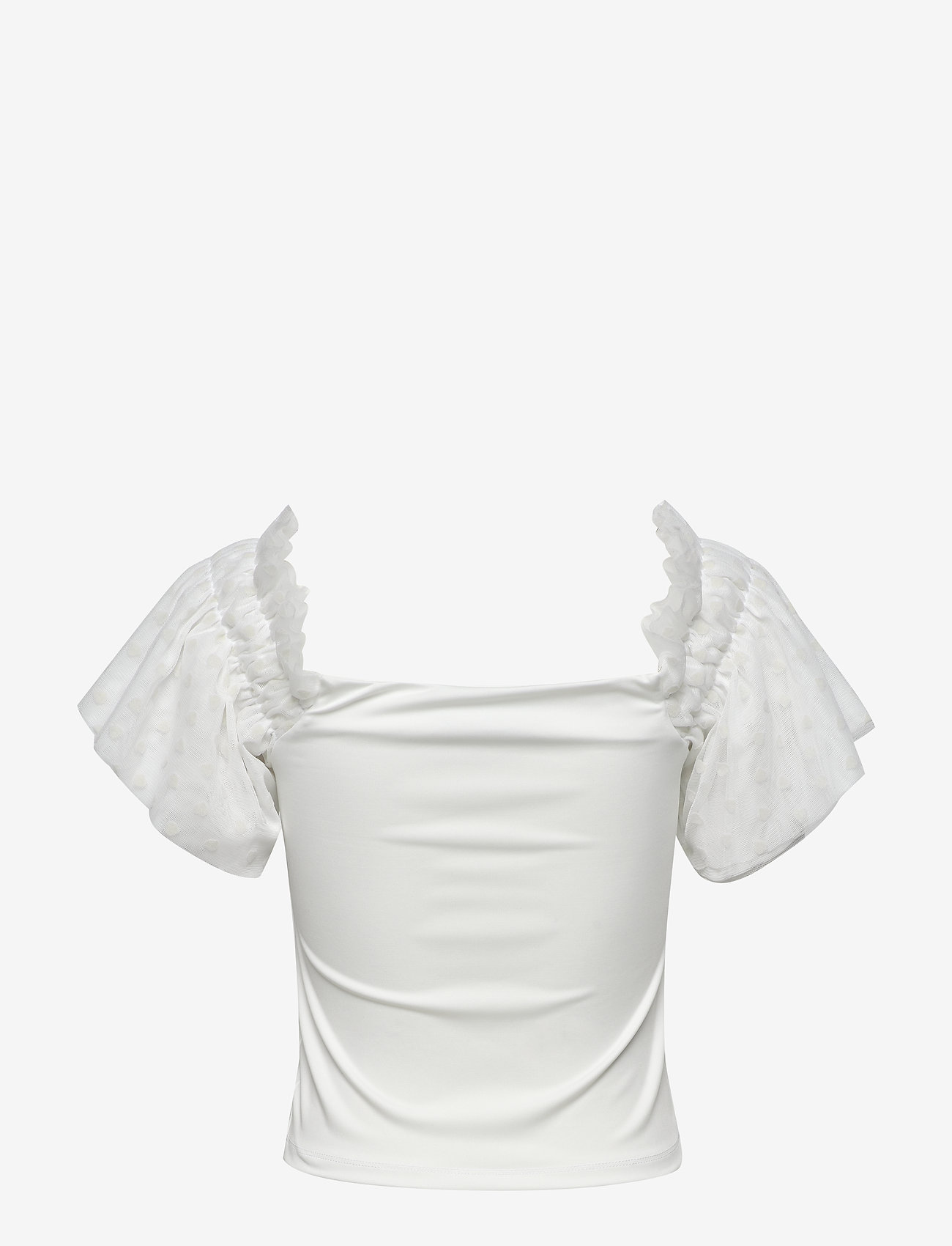 Ivyrevel - MESH SLEEVE TOP - blouses à manches courtes - off white - 1