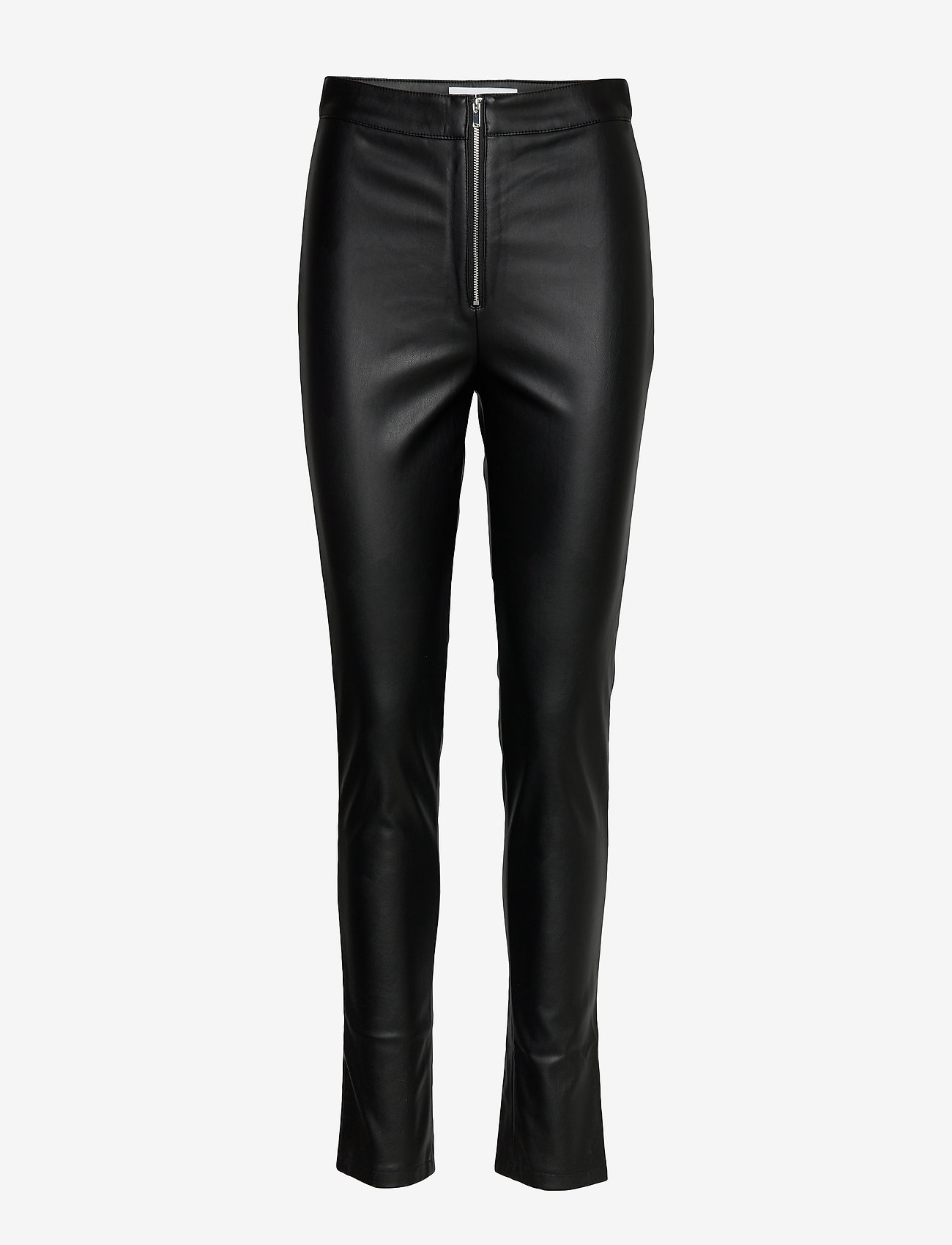 Ivyrevel - FAUX LEATHER TROUSERS - lederhosen - black - 1