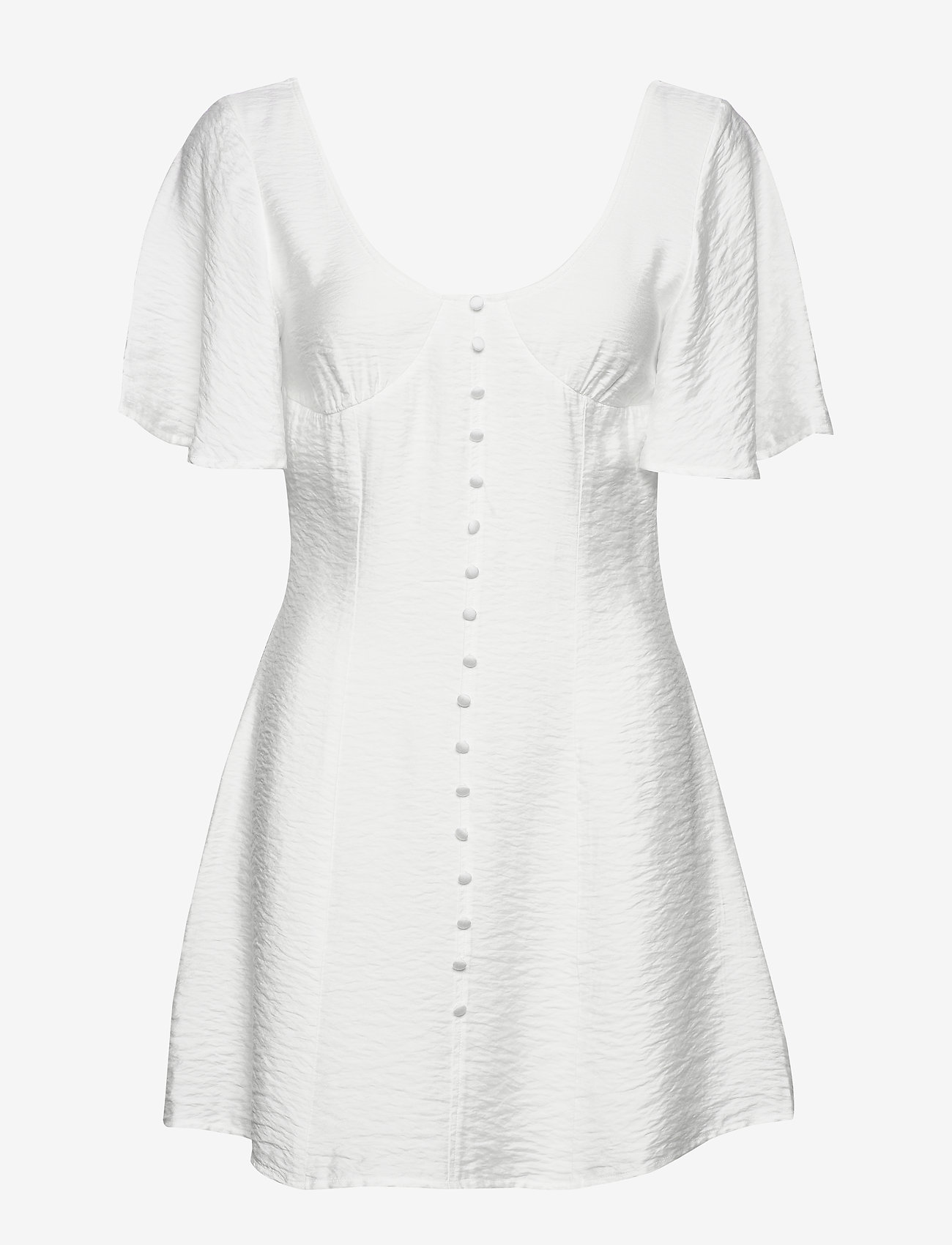 Ivyrevel - BUTTON UP CORSET DRESS - robes courtes - white - 0