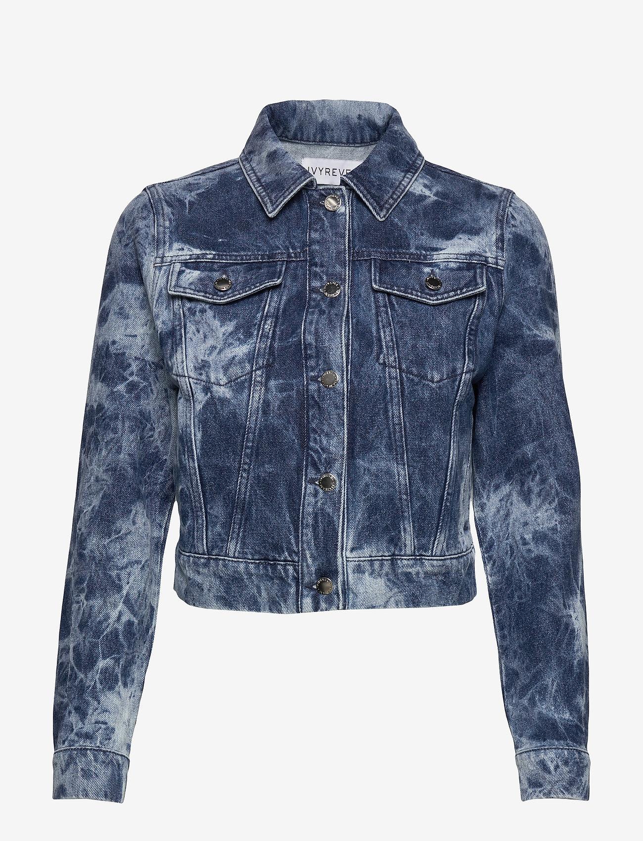 Ivyrevel - ACID WASH DENIM JACKET - vestes en jean - blue acid wash - 1