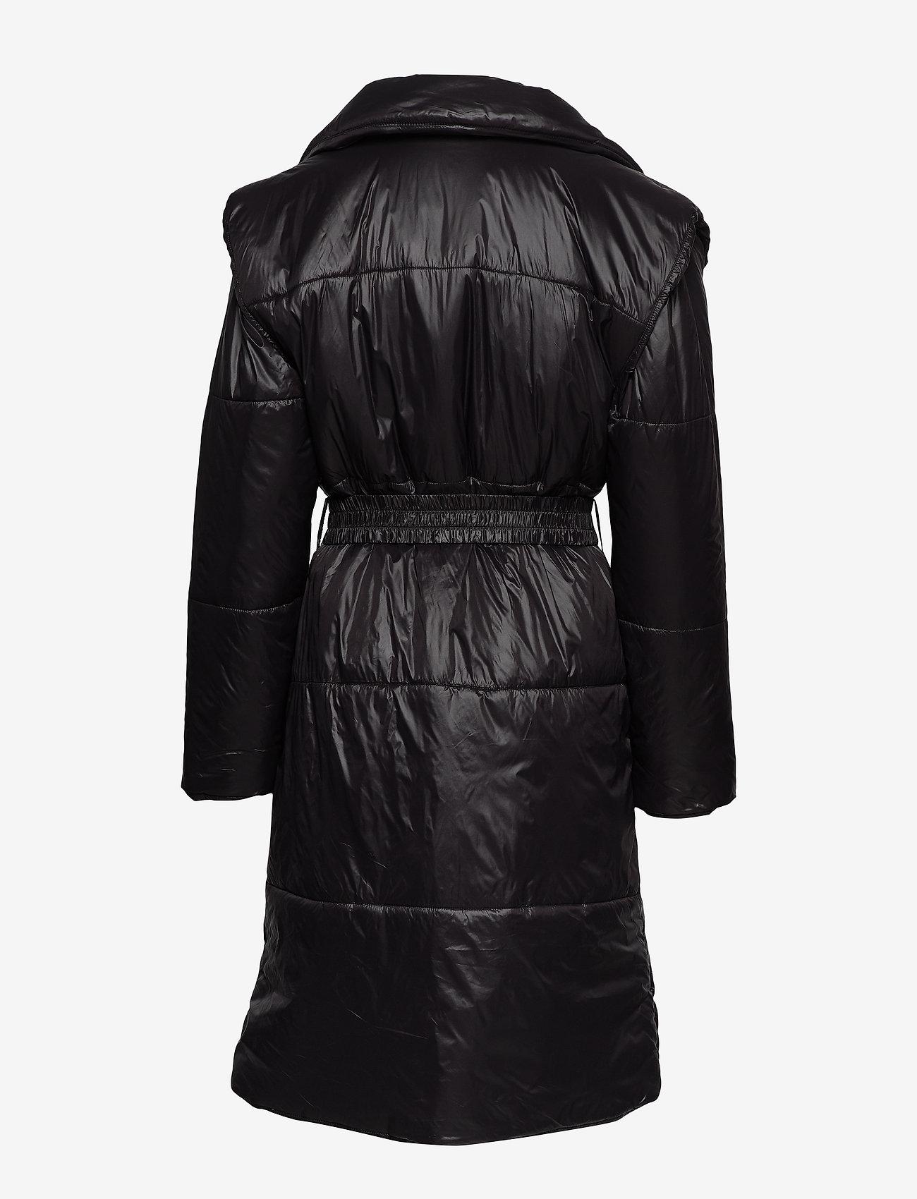 Ivyrevel QUILTED COAT - Kurtki i Płaszcze BLACK - Kobiety Odzież.