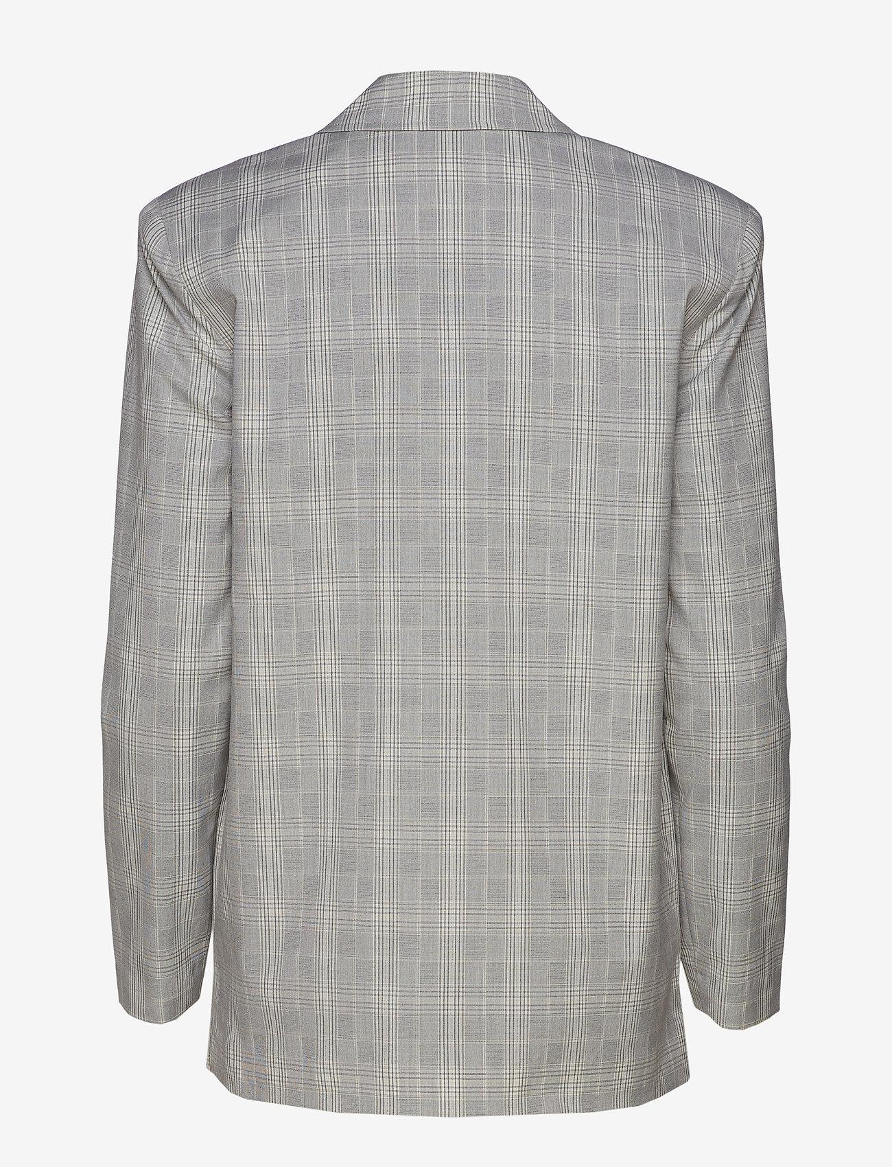 Ivyrevel Checked Blazer - Kavajer Grey Check