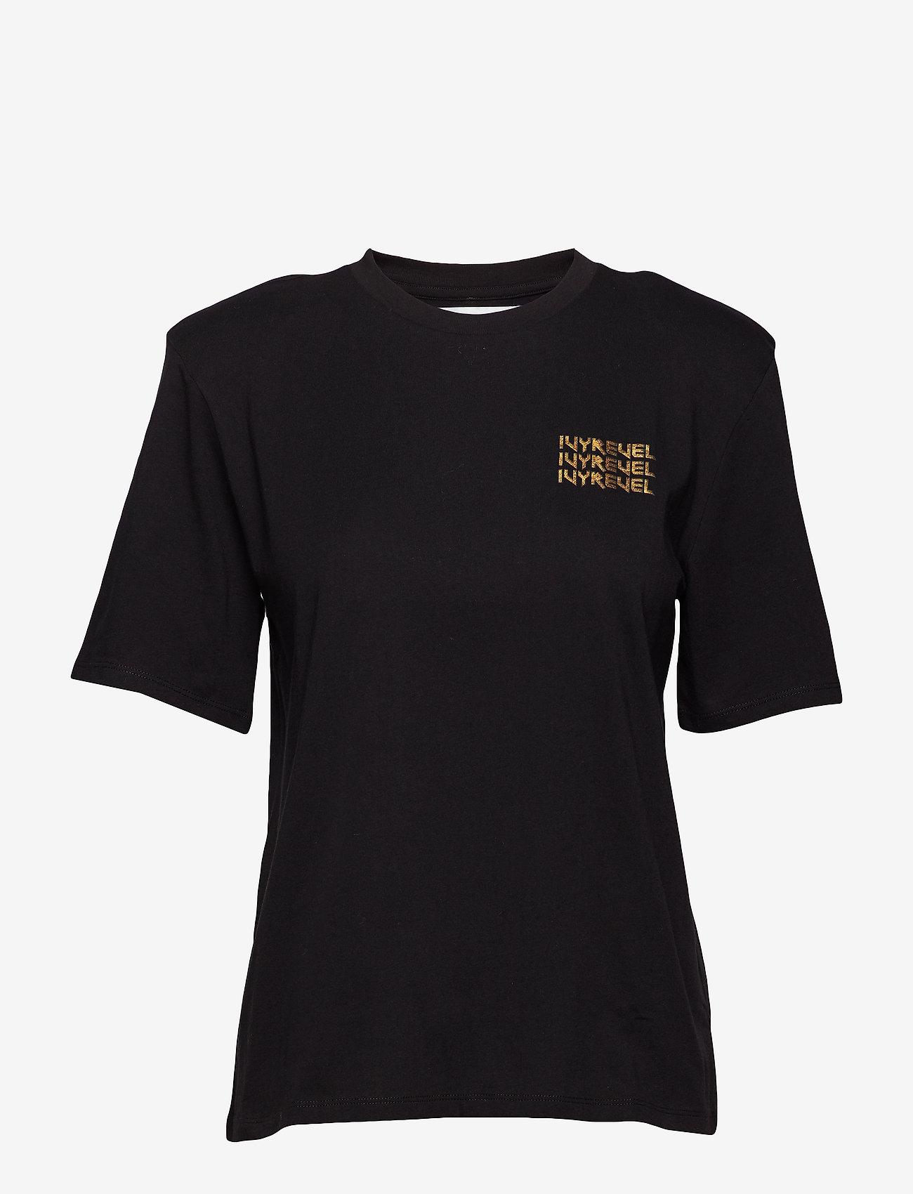 Ivyrevel - IVY TSHIRT - printed t-shirts - black