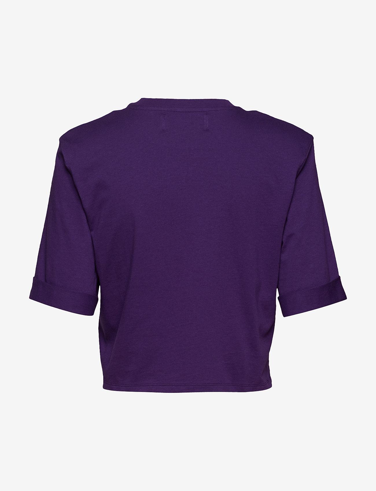 Ivyrevel - CROPPED IVY TSHIRT - crop tops - purple