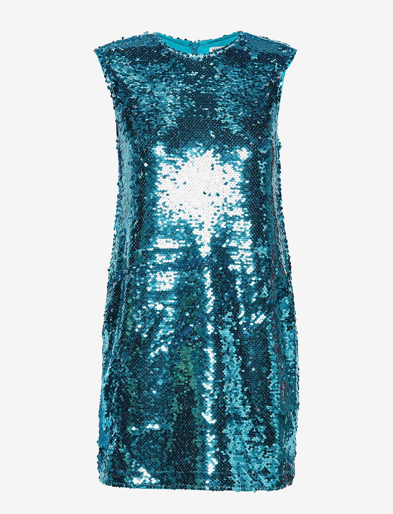 Sequin Mini Dress (Light Blue) - Ivyrevel LkTmG3