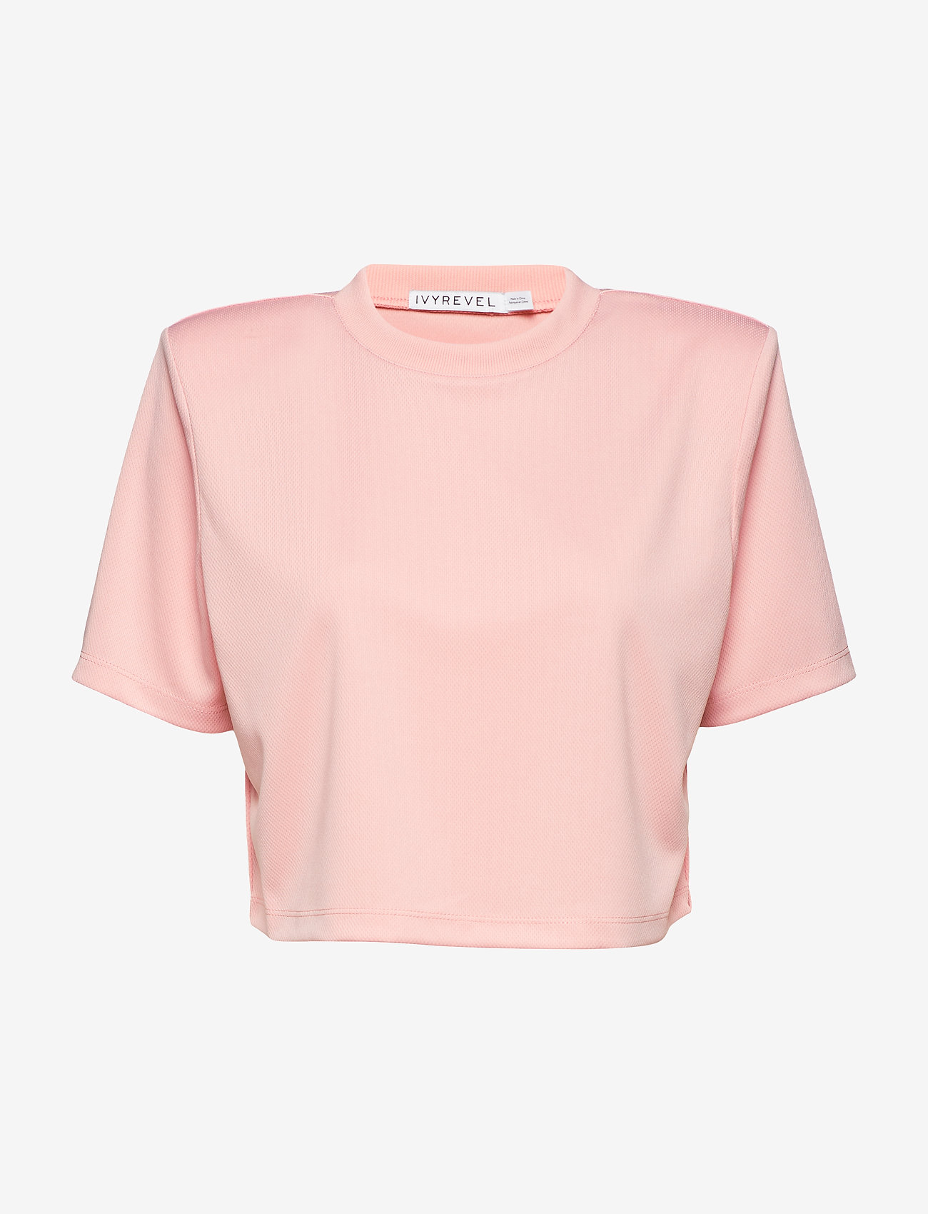 Boxy Sport Mesh Top (Light Pink) (147.60 kr) - Ivyrevel