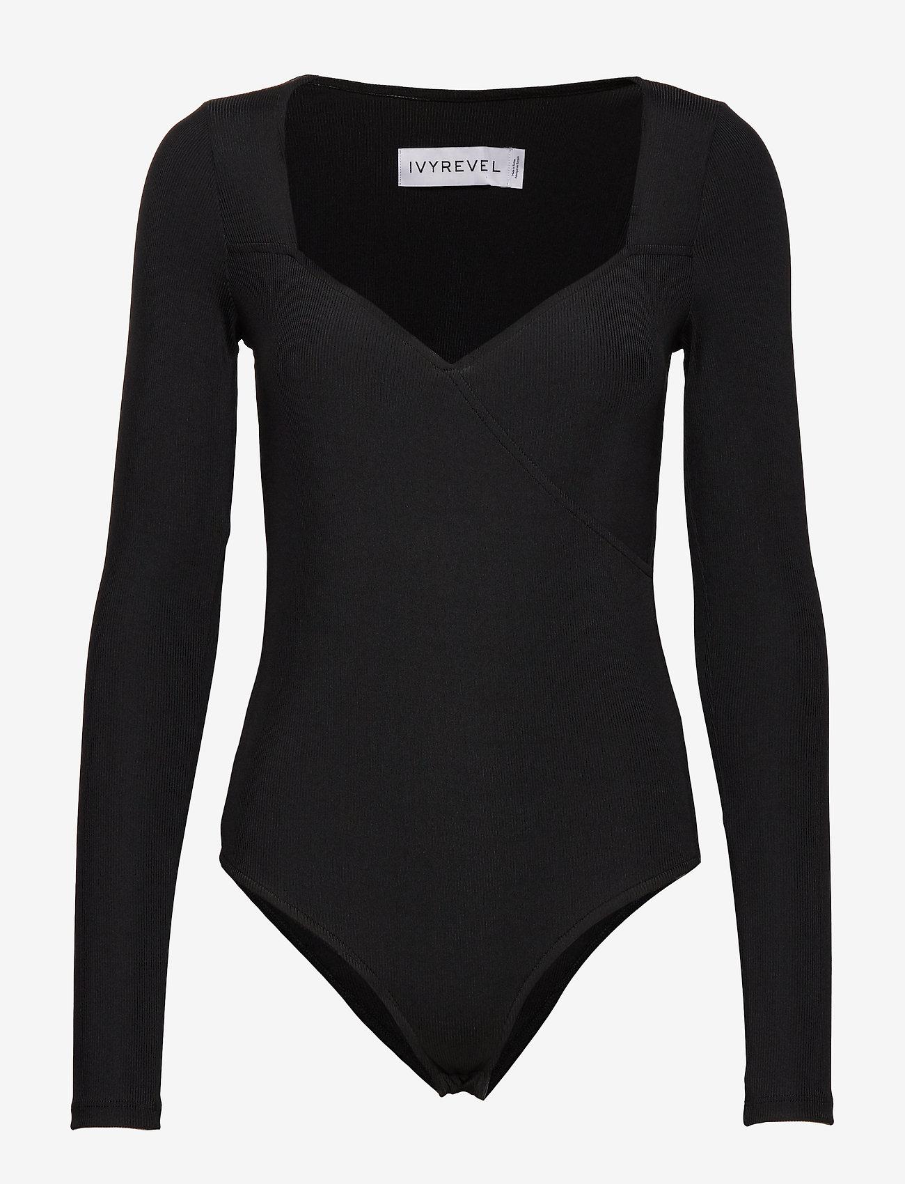 Ivyrevel - TIGHT PLUNGE BODY - body - black - 1