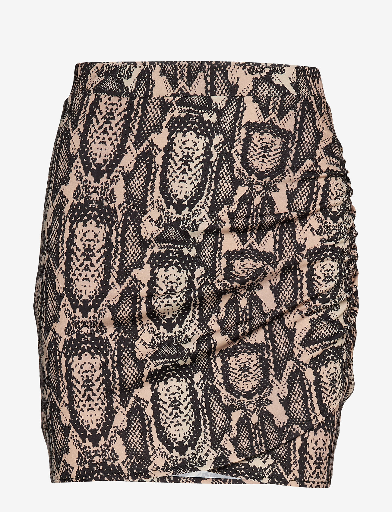 Ivyrevel - DRAPY MINI SKIRT - jupes courtes - beige snake - 0