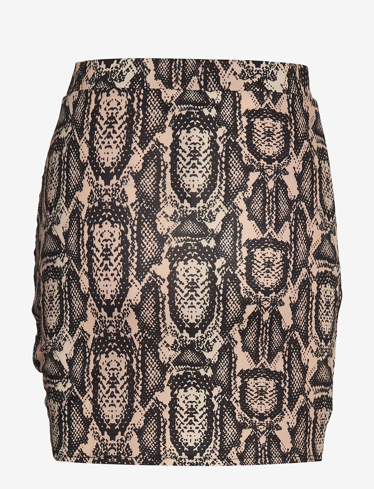 Ivyrevel - DRAPY MINI SKIRT - jupes courtes - beige snake - 1