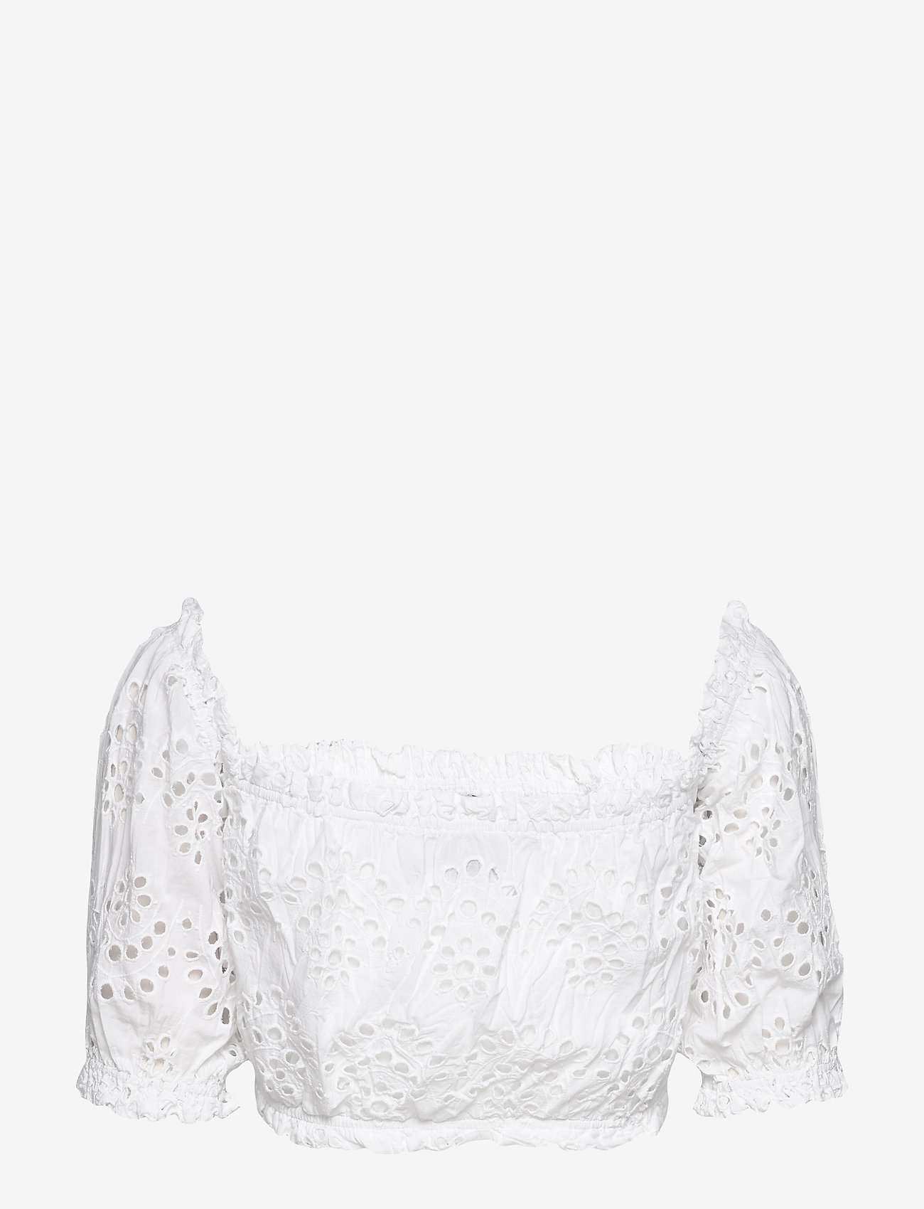 Ivyrevel - OFF SHOULDER PUFF TOP - hauts courts - white - 1