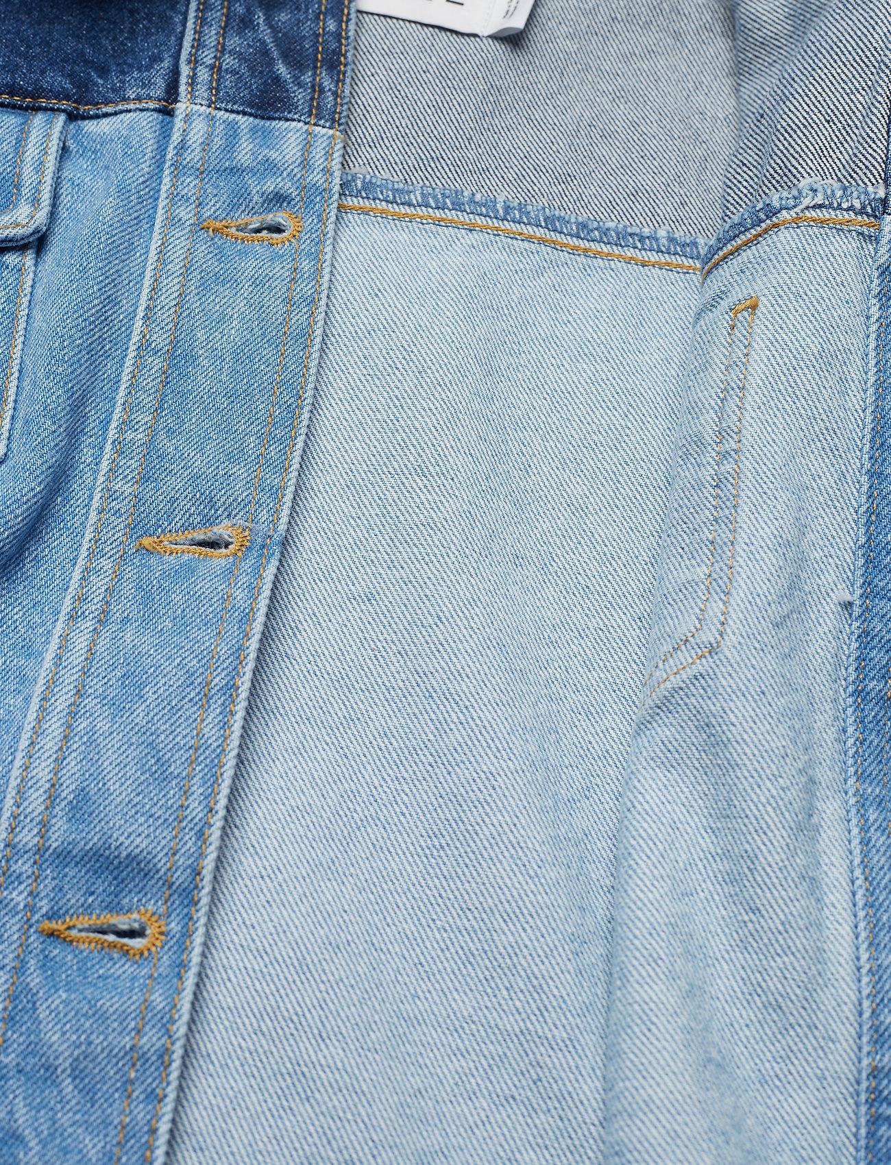 Ivyrevel Sharp Shoulder Denim Jacket - Jackets & Coats BLUE