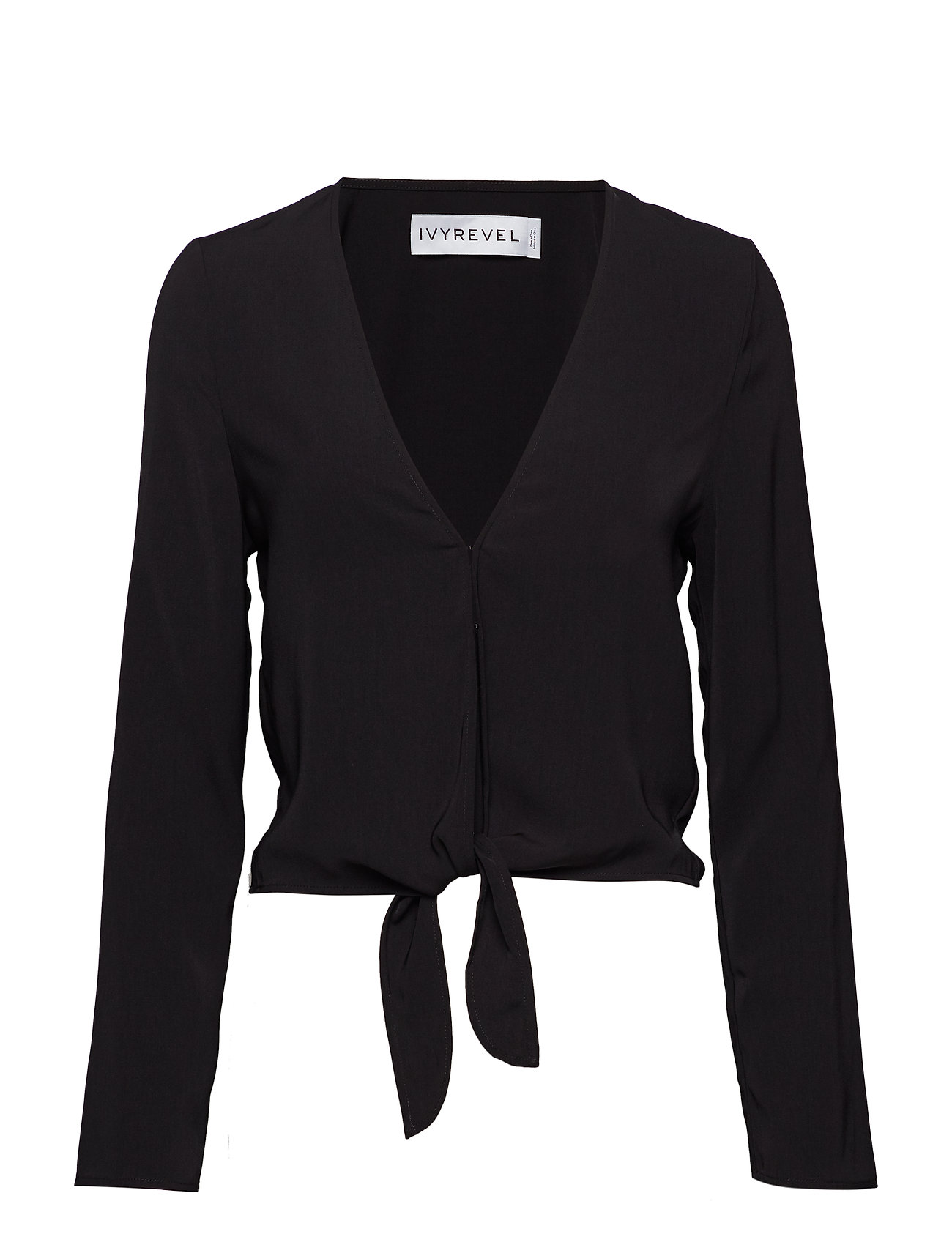Ivyrevel Tie Front Top - BLACK