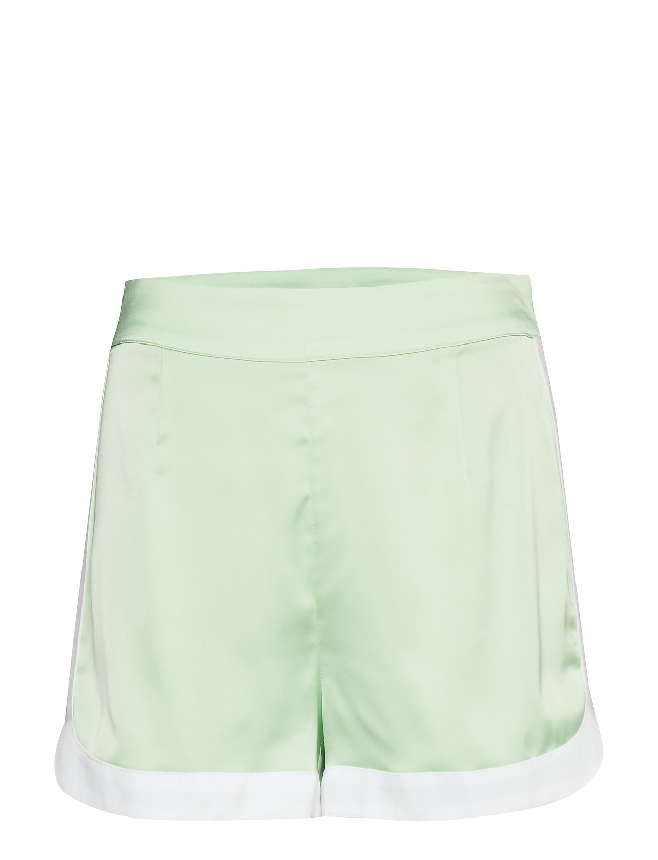Ivyrevel Curved Hem Shorts - PASTEL GREEN