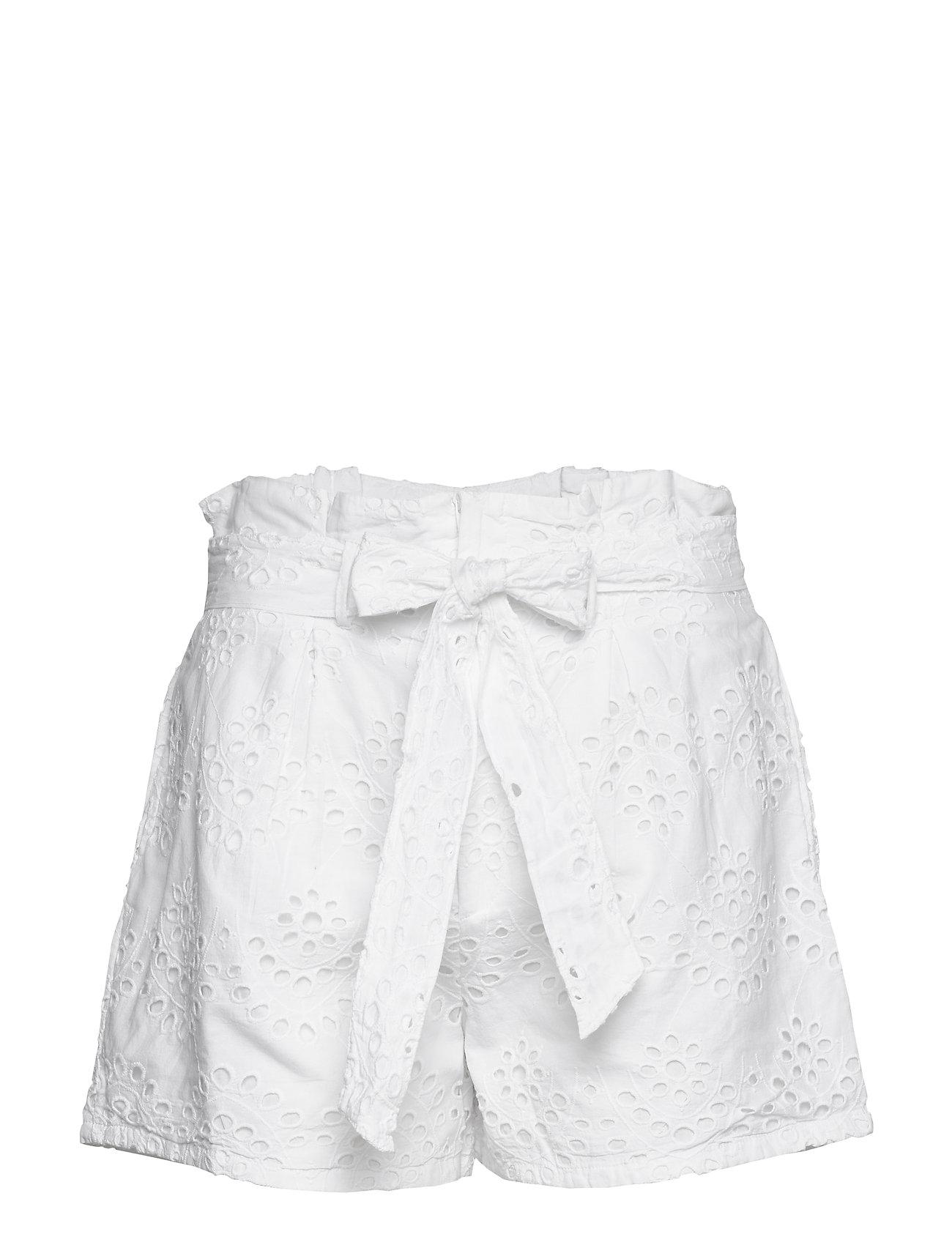 Image of Paper Bag Mini Shorts Shorts Flowy Shorts/Casual Shorts Hvid Ivyrevel (3406317527)