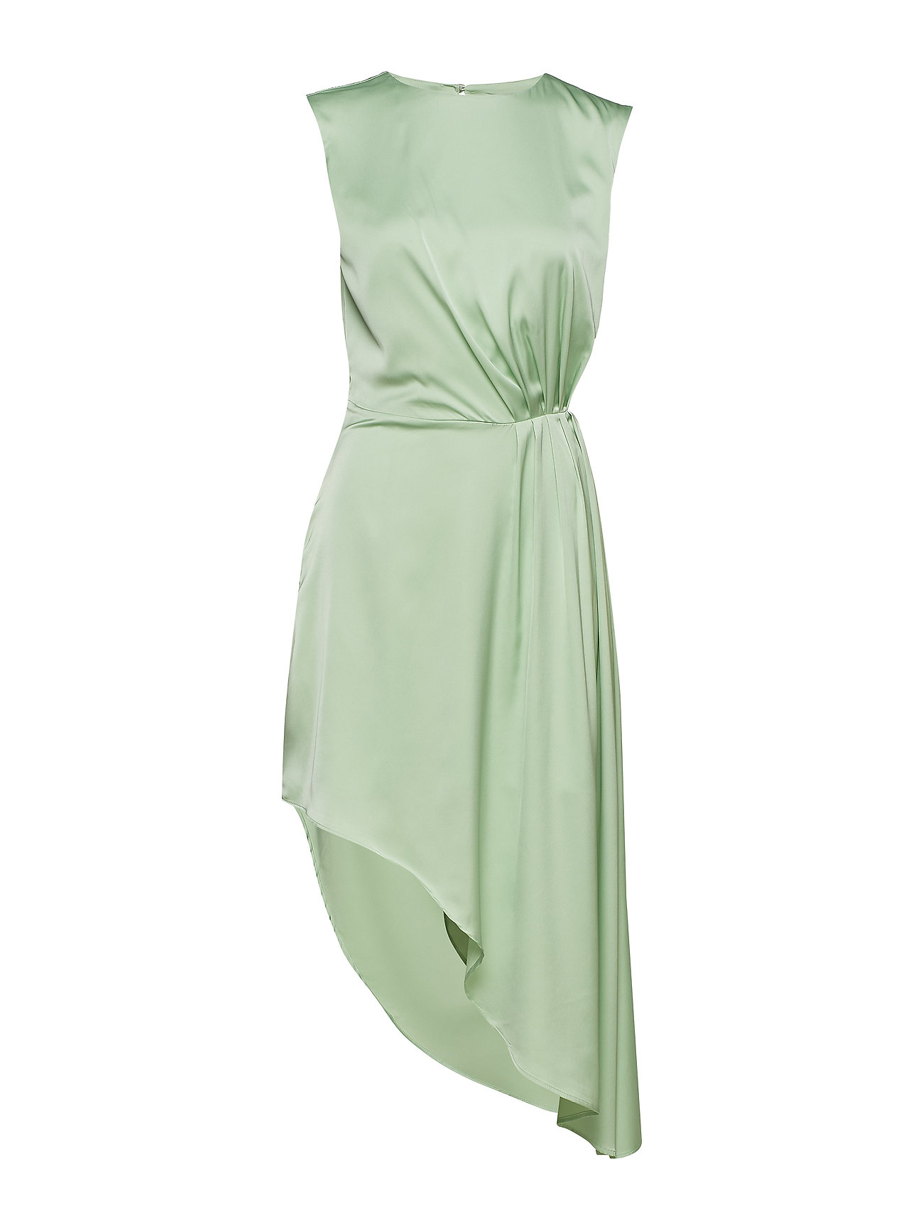 Ivyrevel Assymetric Dress - PASTEL GREEN