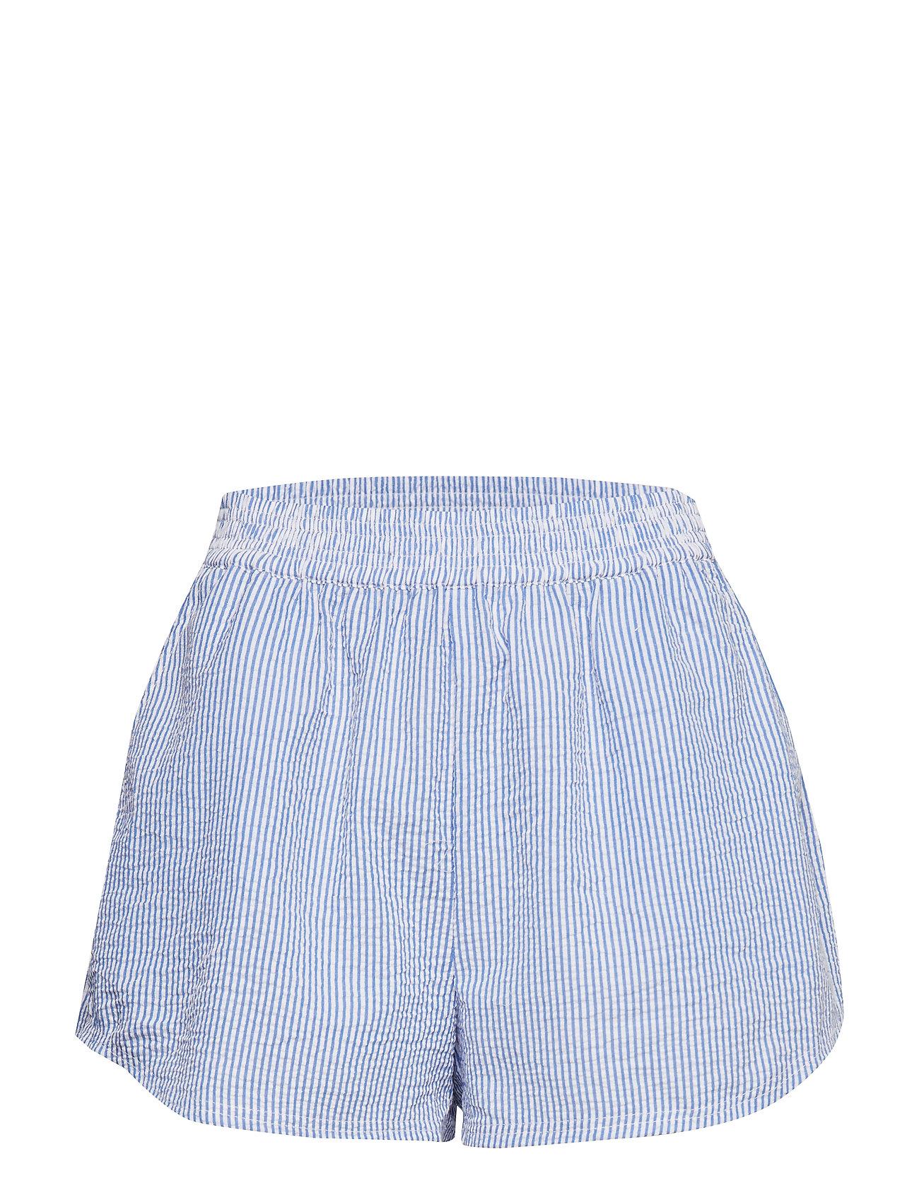 Ivyrevel High Waisted Shorts - BLUE MIX