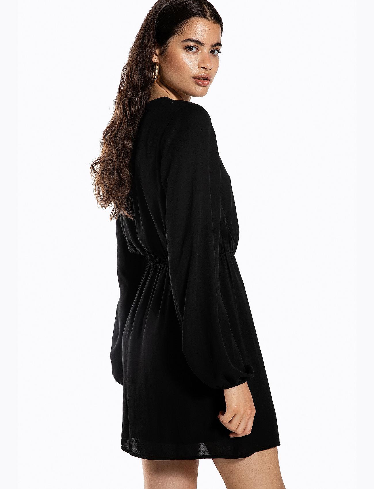 Ivyrevel BALLOON SLEEVE DRESS - Dresses BLACK