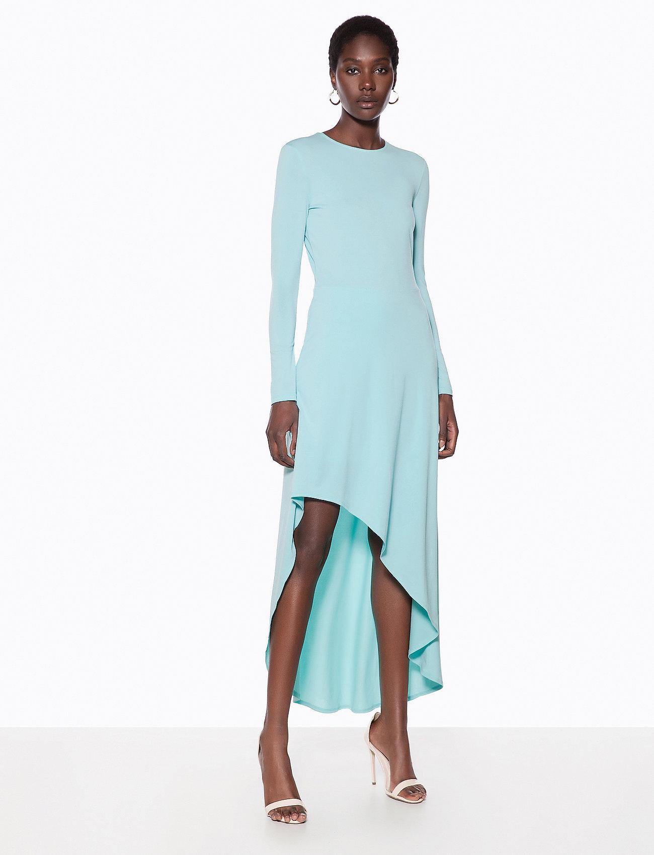 Asymmetric Dresslight Hem Midi BlueIvyrevel 1JKTFlc