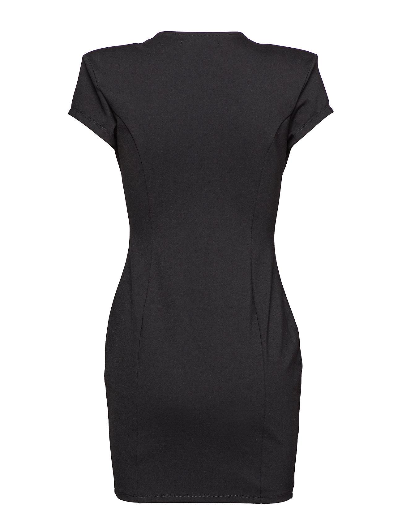 Ivyrevel    CAPPED SLEEVE PLUNGE MINI DRESS  - Kleider    LIGHT PINK