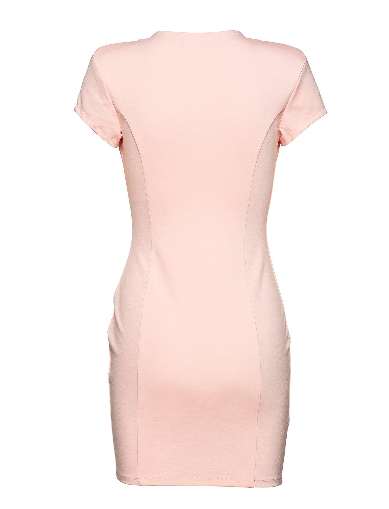 Plunge Dresslight Mini PinkIvyrevel Sleeve Capped YH2DWE9I