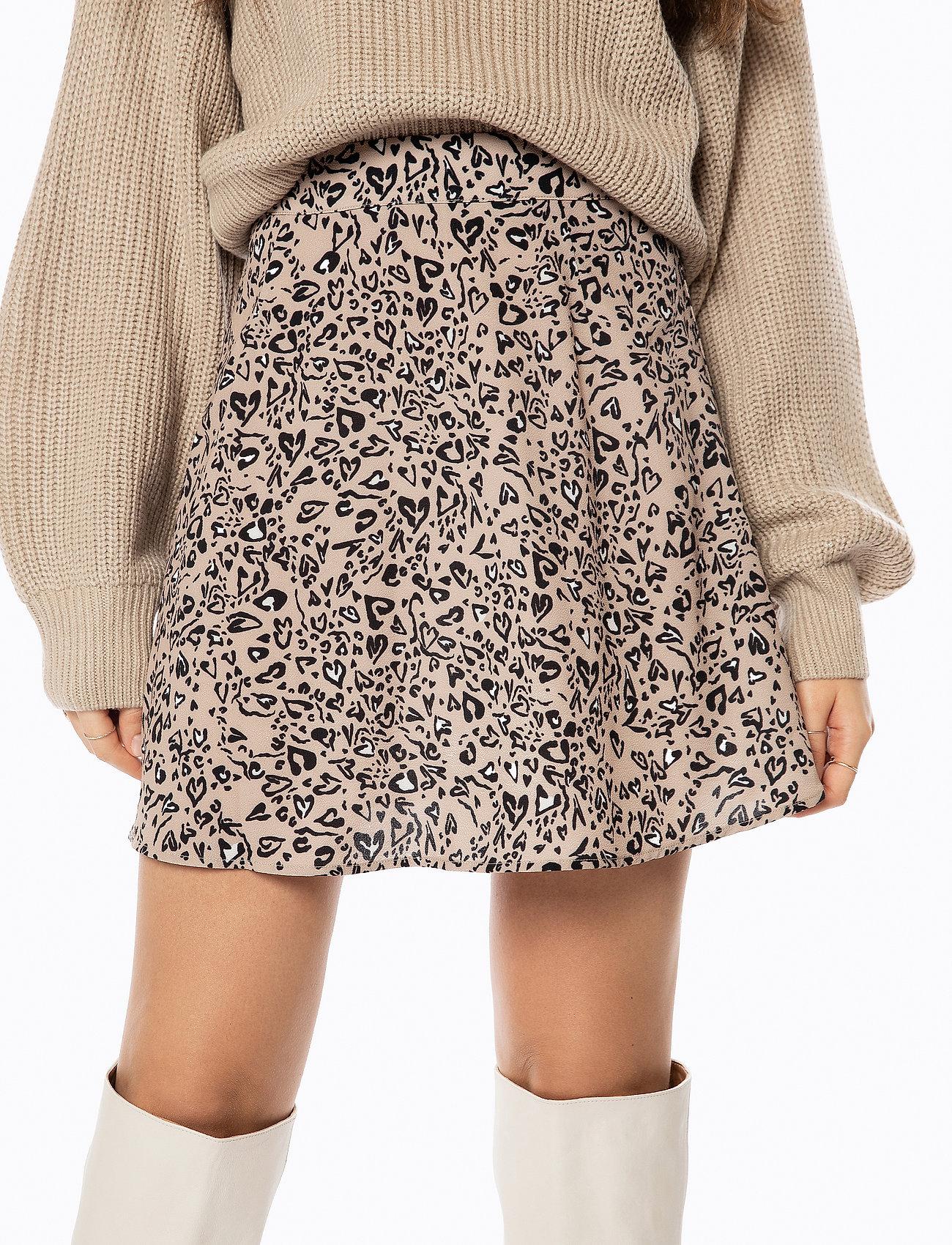 Ivyrevel A-line Mini Skirt - Kjolar Animal Hearts