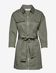 Ivyrevel - UTILITY TWILL DRESS - trenchs - fern - 0