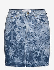 Ivyrevel - DENIM MINI SKIRT - jupes en jeans - blue acid wash - 0